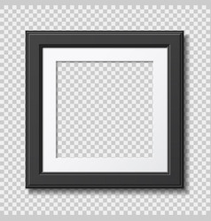 photo frame mockup vector image