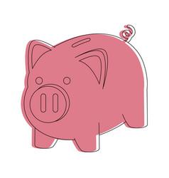 Piggy money savings vector