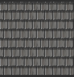 seamless textured pattern gray wooden roof vector image