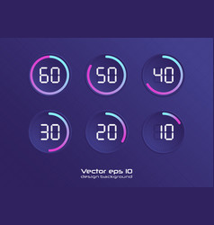 Set timers vector