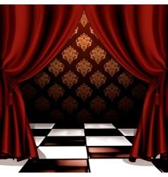 Royal room vector image