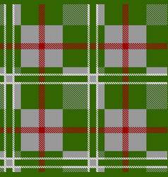 seamless tartan pattern vector image vector image
