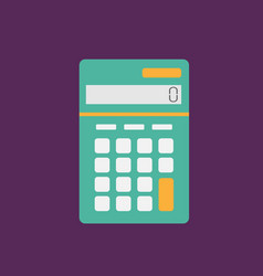 calculator icon set of great flat icons with vector image