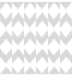 Chevron ikat seamless pattern vector