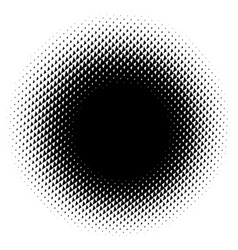 Halftone element abstract geometric graphic with vector
