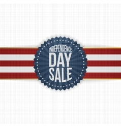 Independence Day Sale modern graphic Label vector