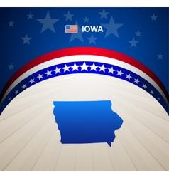 Iowa vector