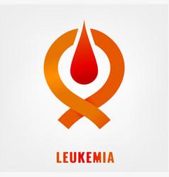 Leukemia icon image vector