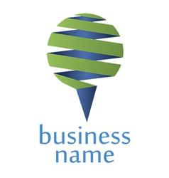 logo service vector image