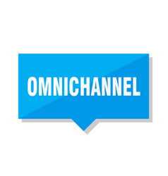 Omnichannel price tag vector