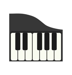 Piano music instrument vector