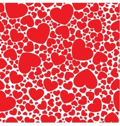 Red hearts vector
