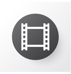 Video icon symbol premium quality isolated film vector