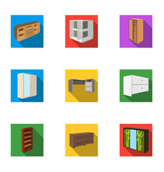 the set of images on the theme of sleep and rest vector image