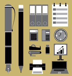 Set of Business Icon vector image