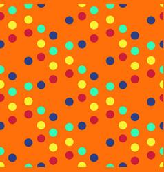 Circular symmetry colours seamless pattern vector