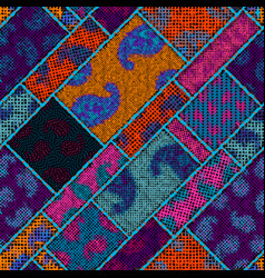 imitation a texture rough canvas seamless vector image