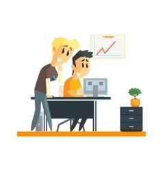 Office Team Success vector