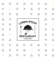 Plate icon Food and Menu design graphic vector