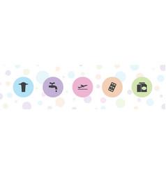 Take icons vector