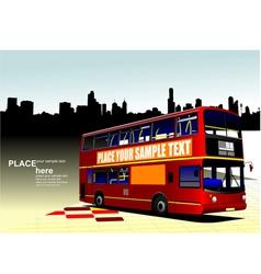 al 1003 city bus 01 vector image vector image