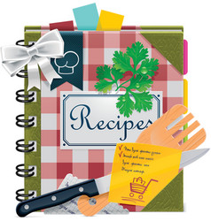 cooking book xxl icon vector image