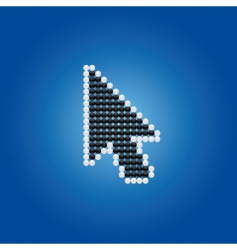 mouse pointer vector image vector image