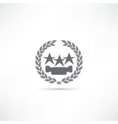 star icon vector image vector image