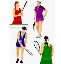 Al 0208 02 tennis vector