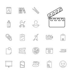 Clip icons vector