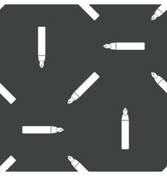Fountain pen pattern vector image