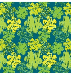 Grunge flower green seamless 380 vector