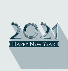 Happy new year 2021 vector