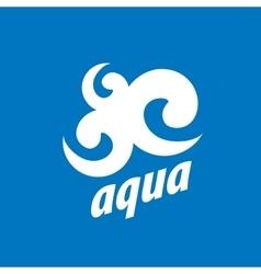 Logo water vector
