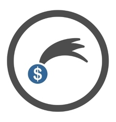 Lucky icon vector image