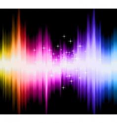 magic gradient background vector image
