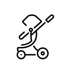 Toddler rocker vector