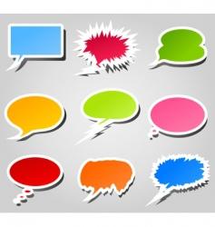 Conversation cloud vector
