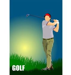 al 1004 golf 01 vector image