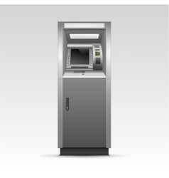 ATM Bank Cash Machine Isolated vector image