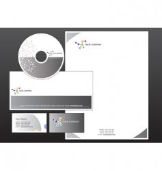 corporative set vector image