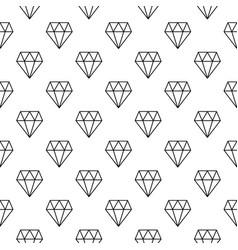 diamonds minimal seamless pattern or vector image