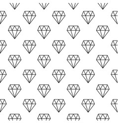 Diamonds minimal seamless pattern vector