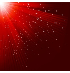 Great christmas texture with shining stars EPS 10 vector image
