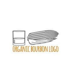 Modern line style logo branding logotype badge vector