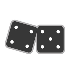 Pair of dice icon vector