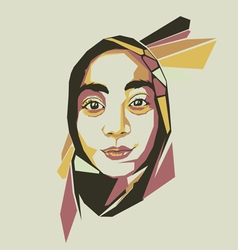 Picture of woman vector