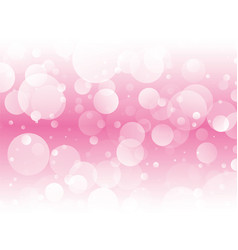 pink circles love background vector image