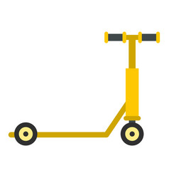 Scooter icon isolated vector