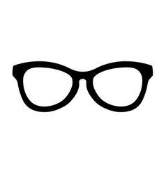 Simple cool glasses symbol design vector
